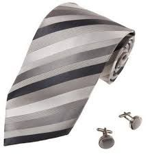 Image result for black white grey neck tie