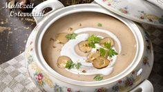 Maroni-Rahmsuppe #chestnut #soup #yummy #veggie #delicious #recipe