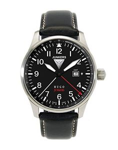 6817a79a264b Junkers 150 Years Hugo Junkers Anniversary GMT Watch 6644-2 Review