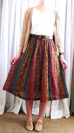 Want more of these type of skirts!