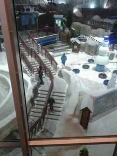 Dubai snow center...