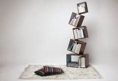 Equilibrium book case. dope, i want.