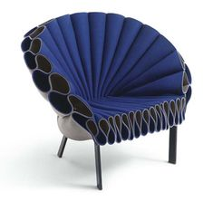 Peacock Chair lounge chair design by Studio Dror for Cappellini
