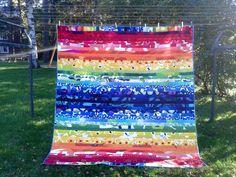 Marimekko quilt, Modern quilt, Patchwork quilt, Marimekko bedding ... : marimekko quilt - Adamdwight.com