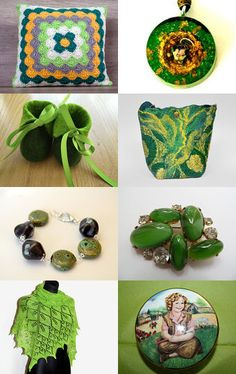 Green by Marilyn on Etsy--Pinned with TreasuryPin.com