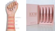 These KKW by Kylie Cosmetics lipstick dupes will allow you to get the look of the sold-out nudes collection.