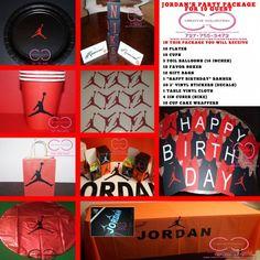 e9e84a84761 Jumpman Party Package Michael Jordan Birthday, Grooms Cake Tables, Jordan  Baby Shower, Basketball