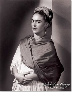 Nickolas Muray. Retrato de Frida Kahlo