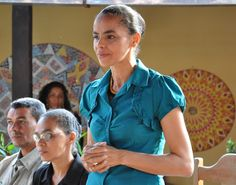 Marina Silva, Brazilian environmentalist and politician.