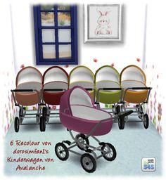Sims 4 | simsmarktplatz: dorosimfan1 Kinderwagen Retextured  #buy mode nursery stroller crib