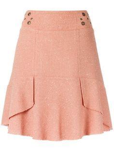 Compre Le Lis Blanc Saia com textura. Cute Skirts, Short Skirts, Mini Skirts, Blouse And Skirt, Dress Skirt, African Fashion Dresses, Skirt Outfits, Rock, Womens Fashion
