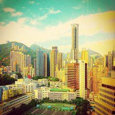 Good morning Hong Kong Island! - @balazsroth- #webstagram
