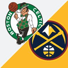 Celtics vs Nuggets Celtics Vs, Boston Celtics, Denver Nuggets, Basketball Games, Espn, Nba, Basketball Plays