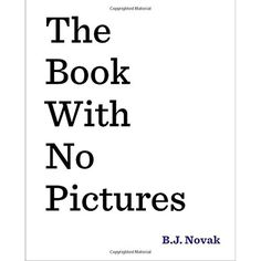 The Book with No Pictures         >>> You can get more details by clicking on the image. (This is an affiliate link) #Books