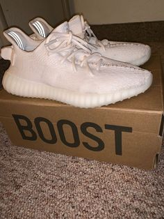new styles 38e2b 0582c Used adidas Yeezy Boost 350 Cream size 13 authentic og box