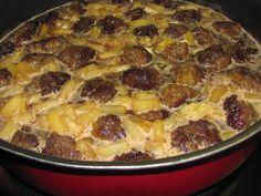 Polynesian Food | Better Than Burgers: Pineapple Hawaiian Meatballs