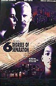 Six Degrees of Separation (1993) | directed by Fred Schepisi | starring Donald Sutherland, Stockard Channing, and Will Smith