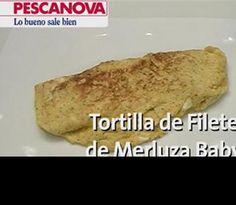 Tortilla de Filete de Merluza Baby