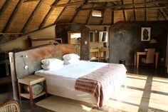Nawas One of the nicest lodges in the fabulous Wilderness Safaris portfolio, Doro !Nawas epitomises what Damaraland is about. Raw authentic Namibia, set in one of its harshest landscapes.