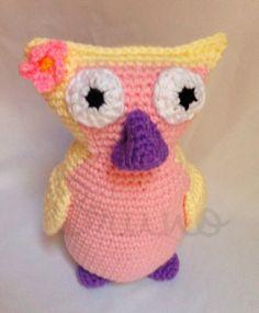 Crocheted Owl - Bruno