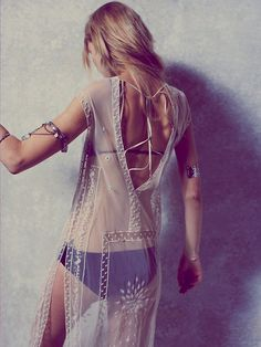 Free People Caroline's Limited Edition White Dress at Free People Clothing Boutique