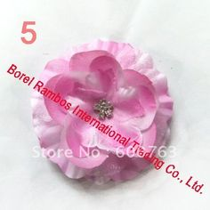 free shipping 2011 New Style Seam drilling flower Cloth Tiara/Hair Clips/hair Accessories/Hair flowers Wholesale 15 color choice on AliExpress.com. $ 72.58