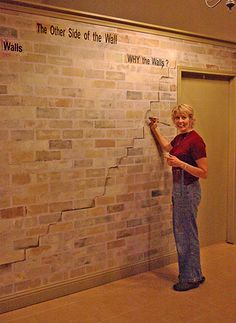 1000 images about faux brick wall on pinterest faux. Black Bedroom Furniture Sets. Home Design Ideas