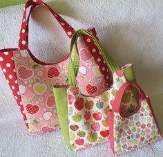summer tote bag/ Geta's Quilting Studio