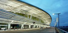 Indianapolis International Airport Colonel H. Weir Cook Terminal #HOK Design