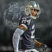 Charles Woodson Of The Oakland Raiders