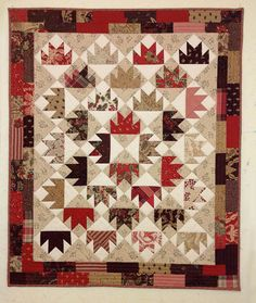 Quilt wall hanging Moda fabric French General Maison by PumsumHill