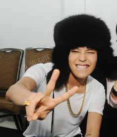 Cute smile G Dragon Daesung, Gd Bigbang, Bigbang G Dragon, K Pop, Lee Hi, Big Bang Kpop, Hip Hop, Gd And Top, Ji Yong