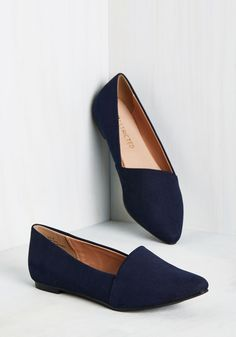 A Roll of the Diagonal Loafer in Navy. Take a gambol on these deep navy loafers…
