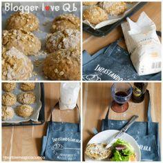 Panini all'avena con farina multicereali della linea Qb di Molino Grassi - Blogger love Qb