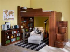 限られた部屋なら上を使って自分だけの秘密基地に|収納30選|家具・インテリアのIDC大塚家具