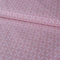 č.3993 geo vzory růžové