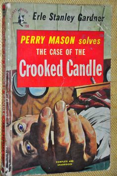 1950s Paperback Mystery. Perry Mason Solves the by RustyCurios