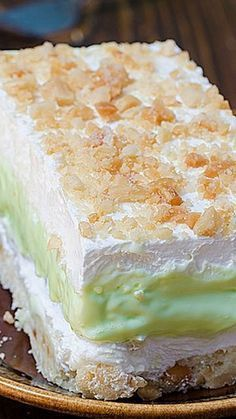 Key Lime Pie Lasagna - OMG Chocolate Desserts == HAVE TO TRY THIS !!! ===
