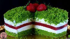 CIASTO SZPINAKOWO TRUSKAWKOWE | rita creative Sweet Recipes, Cake Recipes, Types Of Cakes, Homemade Cakes, Confectionery, Mini Cakes, Avocado Toast, Food And Drink, Herbs