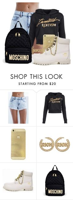 """""""Rich"""" by pinkswagg15 ❤ liked on Polyvore featuring Bullhead Denim Co. and Moschino"""