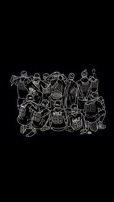 Exo fan art.  cr to @95boma twitter
