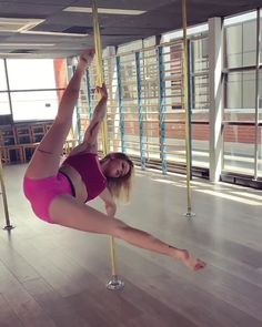 Nailed this todayYou can find Pole dance and more on our website.Nailed this today Fitness Workouts, Pole Fitness Moves, Fitness Video, Pole Dance Moves, Pole Dancing Fitness, Pole Fitness Clothes, Pole Dance Wear, Dance Fitness, Figure Pole Dance