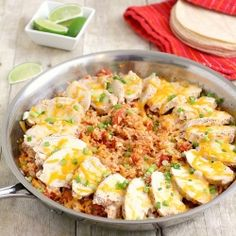 Fiesta Chicken and Rice! - Make sure you make enough for everyone :)