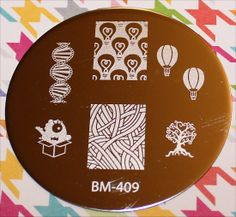 Bundle Monster BM-409 DNA hot air balloon, hair, lightbulb, alien, tree