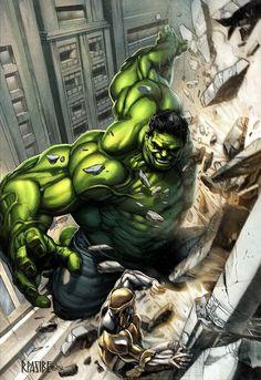 #Hulk #Fan #Art. (HULK colored) By: Grandizer05. [THANK U 4 PINNING!!]