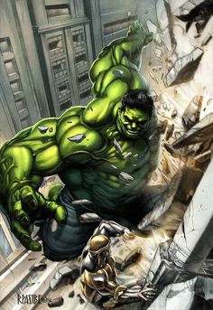 #Hulk #Fan #Art. (HULK (colored) By: Grandizer05. (THE * 5 * STÅR * ÅWARD * OF * MAJOR ÅWESOMENESS!!!™) [THANK U 4 PINNING!!<·><]