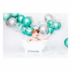 Eléonore Pignet Shooting smash the cake anniversaire baby bath