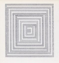 Dom Sylvester Houédard, sonic water, 1964. (Published in Typewriter Art, 1975)