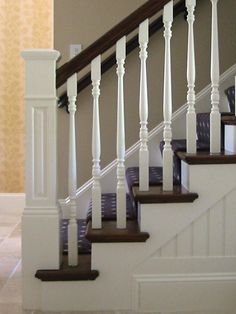 Traditional Staircase Beadboard Design, Pictures, Remodel, Decor and Ideas - page 3