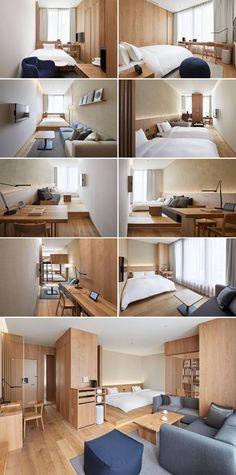 Japanese Interior Design, Japanese Home Decor, Japanese Living Rooms, Home Interior Design, Japanese Bedroom, Apartment Interior, Apartment Design, Muji Home, Minimal House Design